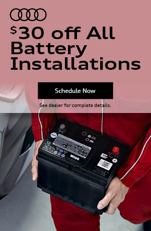 $30 Off All battery Installations