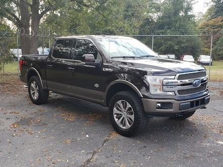 2018 Ford F-150 King Ranch Crew Cab Short Bed Truck