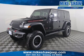 2019 Jeep Wrangler Unlimited Rubicon 4x4 SUV KW533628