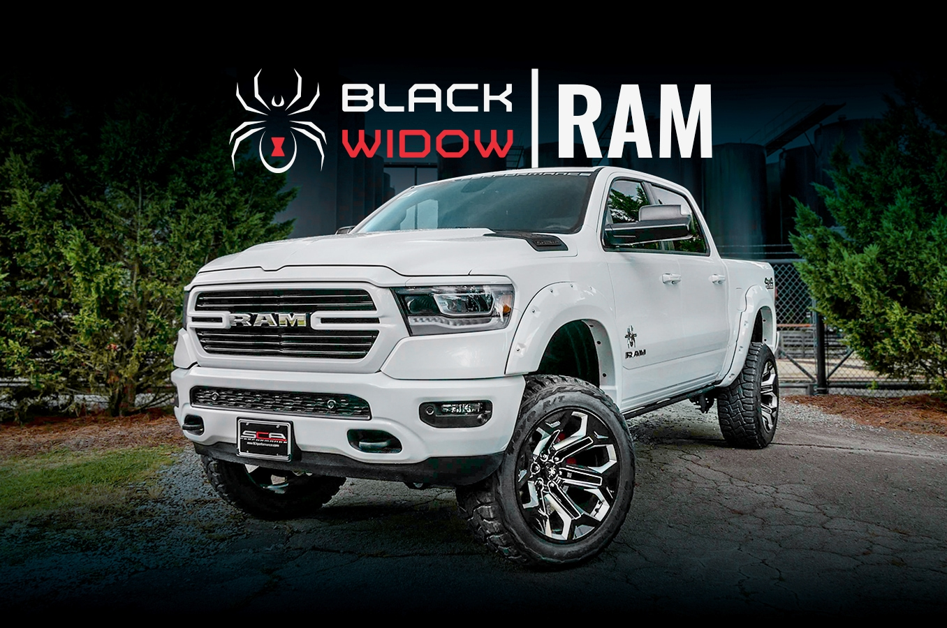 Ram 1500 Black Widow