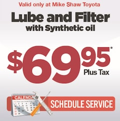 Lube and Filter with Synthetic Oil