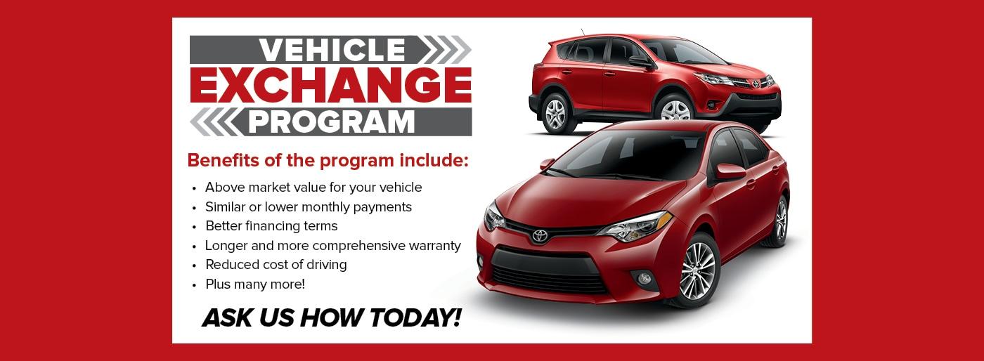 Vehicle Exchange Program Mike Shaw Toyota