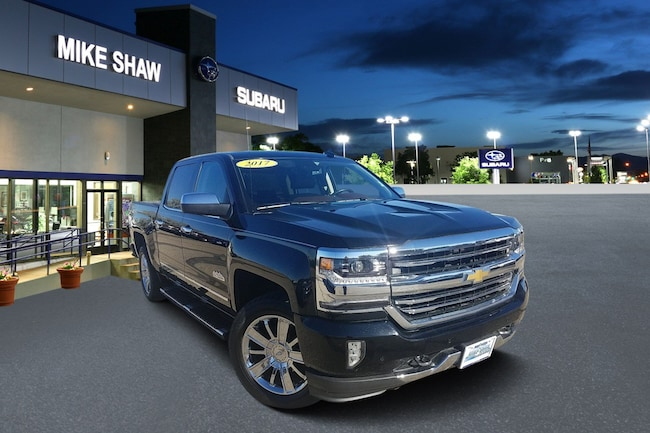 2017 Chevrolet Silverado 1500 High Country 4WD Crew Cab 143.5 High Country