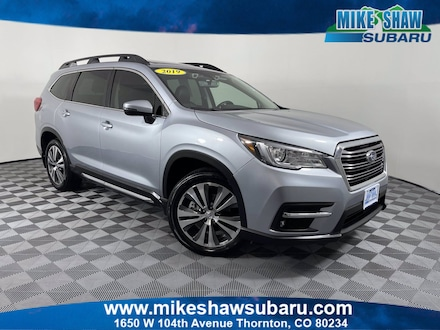Featured Used 2019 Subaru Ascent Limited 2.4T Limited 7-Passenger M3460789A for sale in Thornton, CO