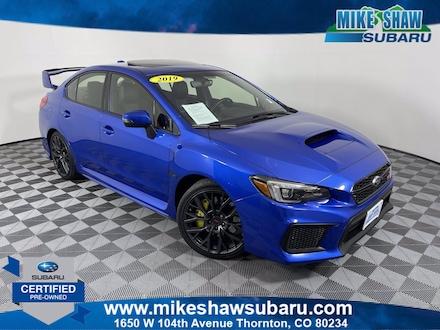 2019 Subaru WRX STI Limited STI Limited Manual w/Lip Spoiler MSS190014S