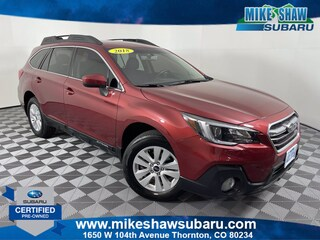 Certified Pre-Owned 2018 Subaru Outback Premium 2.5i Premium J3265611 near Denver CO