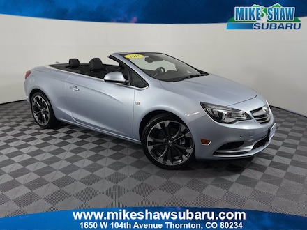 Featured Used 2016 Buick Cascada Premium Convertible M3225431A for sale in Thornton, CO