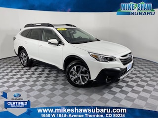 Certified Pre-Owned 2021 Subaru Outback Limited XT Limited XT CVT M3103701 near Denver CO