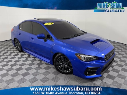 Featured Used 2019 Subaru WRX Limited Limited Manual K9809345 for sale in Thornton, CO