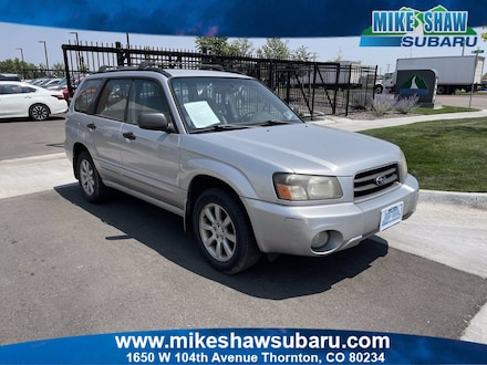Featured 2005 Subaru Forester XS 5H700317 for sale in Thornton, CO