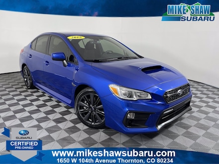 2018 Subaru WRX Manual MSS180019S