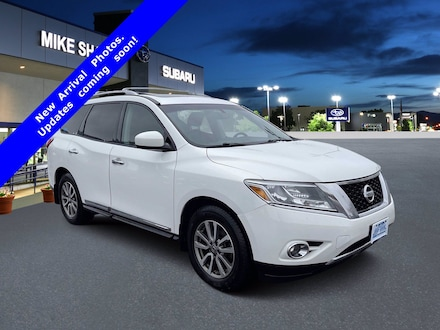 Featured Used 2014 Nissan Pathfinder SL 4WD  SL EC633696 for sale in Thornton, CO