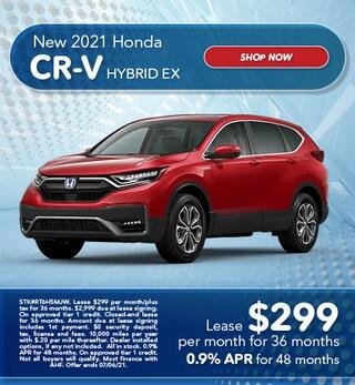 New 2021 Honda CR-V Hybrid EX