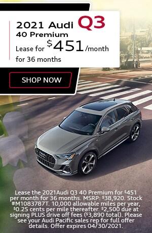 2021 Audi Q3 40 Premium