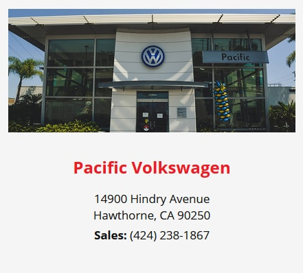 Pacific Volkswagen - Here for Whatever Your Vehicle Needs