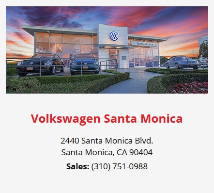 Volkswagen Santa Monica - Our Low-Pressure Experience Ensures True Satisfaction