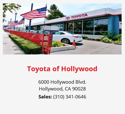 Toyota of Hollywood opened in 1957 and was the first Toyota dealership in the nation.