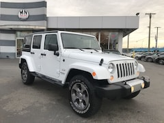2017 Jeep WRANGLER UNLIMITED Sahara 4WD NAVI U-CONNECT REMOTE START ONLY 59KM SUV 70
