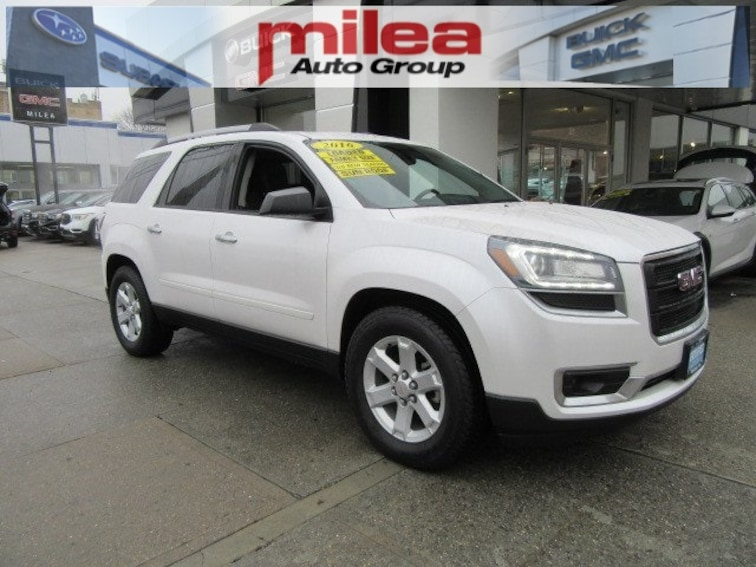 Certified Pre-Owned 2016 GMC Acadia SLE-2 SUV for sale in the Bronx, NY