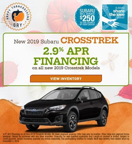 New 2019 Subaru Crosstrek STL - Nov