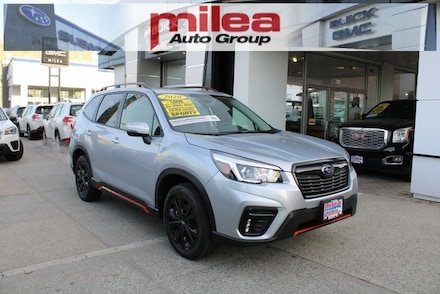Featured used 2020 Subaru Forester Sport SUV for sale in The Bronx, NY