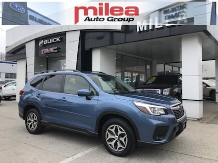 Featured used 2020 Subaru Forester Premium SUV for sale in The Bronx, NY