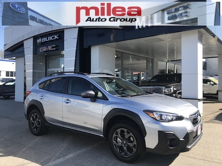 Featured used 2021 Subaru Crosstrek Sport SUV for sale in The Bronx, NY
