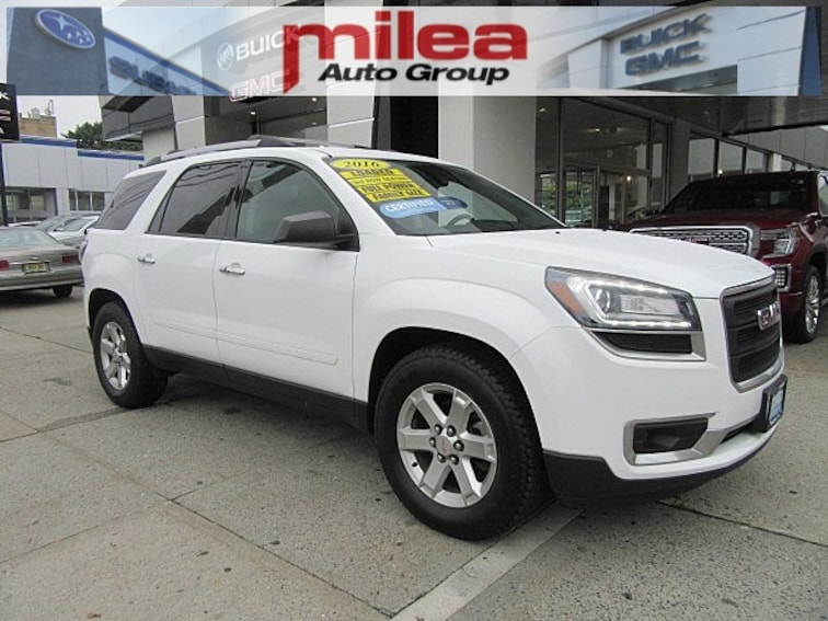 Used 2016 GMC Acadia SLE-2 SUV for sale in the Bronx, NY