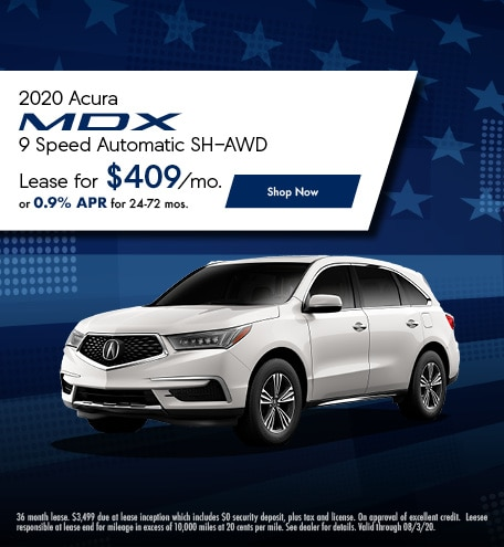 2020 Acura MDX 9 Speed Automatic SH-AWD - July 2020