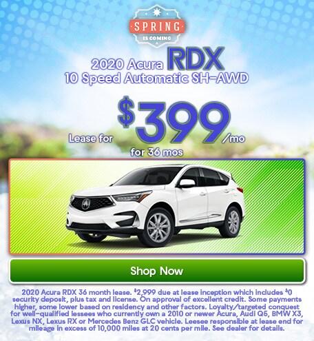 2020 Acura RDX March 2020