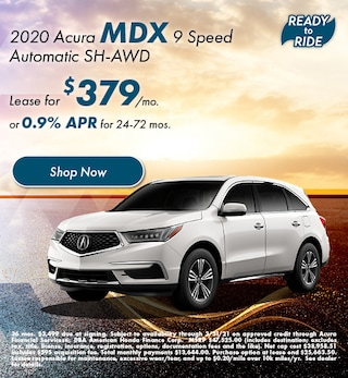 2020 Acura MDX 9 Speed Automatic SH-AWD - March