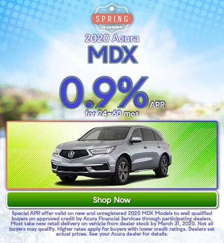2020 Acura MDX - March 2020