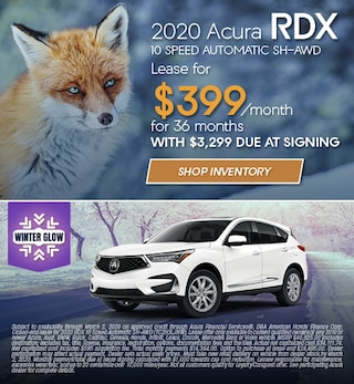 2020 Acura RDX - January