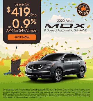 2020 Acura MDX 9 Speed Automatic SH-AWD