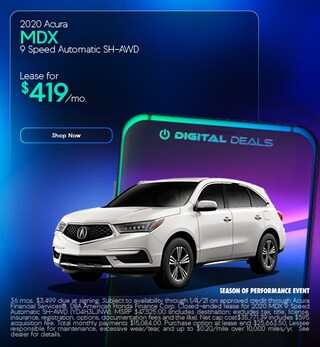 2020 Acura MDX 9 Speed Automatic SH-AWD