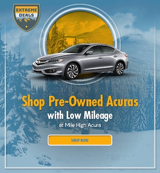 Shop Pre-Owned Acuras with Low Mileage - January 2021