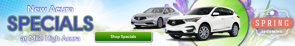 New Acura Specials - March 2020