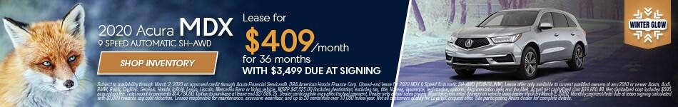 2020 Acura MDX - January