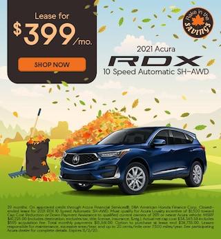 2021 Acura RDX 10 Speed Automatic SH-AWD
