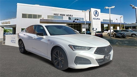 2021 Acura TLX with A-Spec Package Sedan