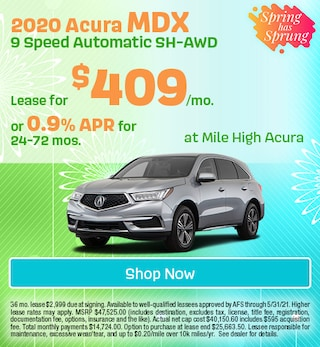 2020 Acura MDX 9 Speed Automatic SH-AWD - April