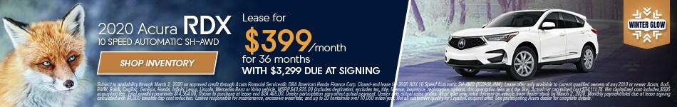 2020 Acura RDX - January