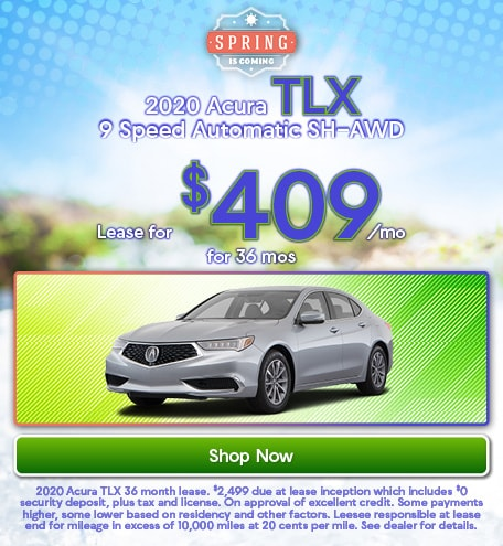 2020 Acura TLX 9 Speed Automatic SH-AWD - March 2020