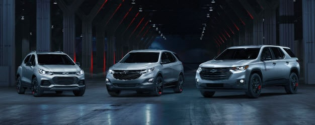 Chevy Redline Special Edition Series Models