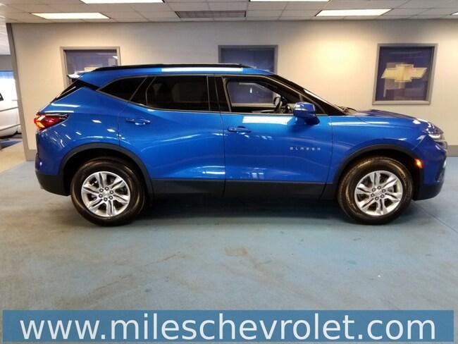 New 2019 Chevrolet Blazer For Sale Kinetic Blue 2019 Blazer Base W