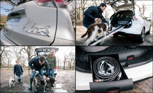 Nissan X Trail For Dogs >> Nissan Builds Dog-Friendly Crossover Concept