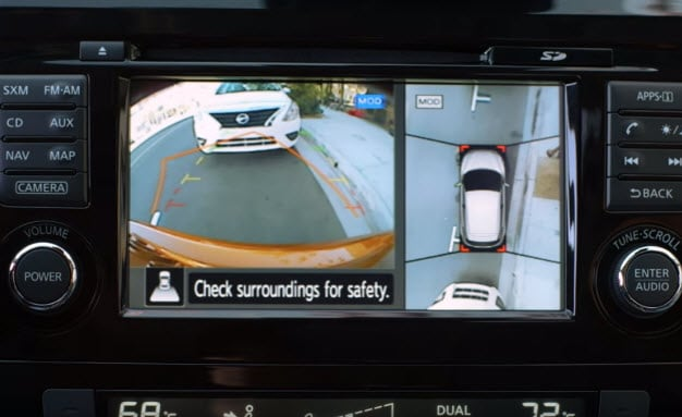 2017 Nissan Rogue Sport - Around View Monitor