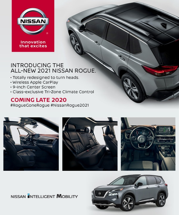 introducing the 2021 nissan rogue  crown nissan of decatur