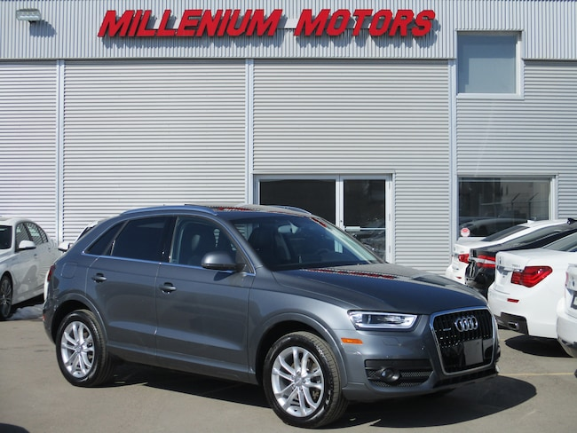 2015 Audi Q3  2.0T AWD TECKNIK / NAVI/ B.CAM/ SUNROOF/ LEATHER  SUV
