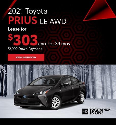 2021 Toyota Prius LE AWD